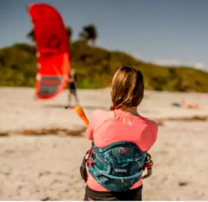 A girl and her kiteboarding dream 01